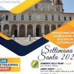 Celebrazioni del Triduo Pasquale presiedute dal mons. Piemontese in diretta su Facebook e Youtube